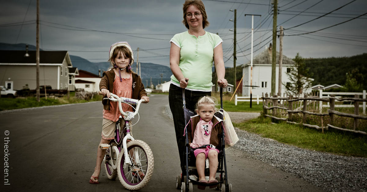 gros morne, new foundland, people, trout river, Canada