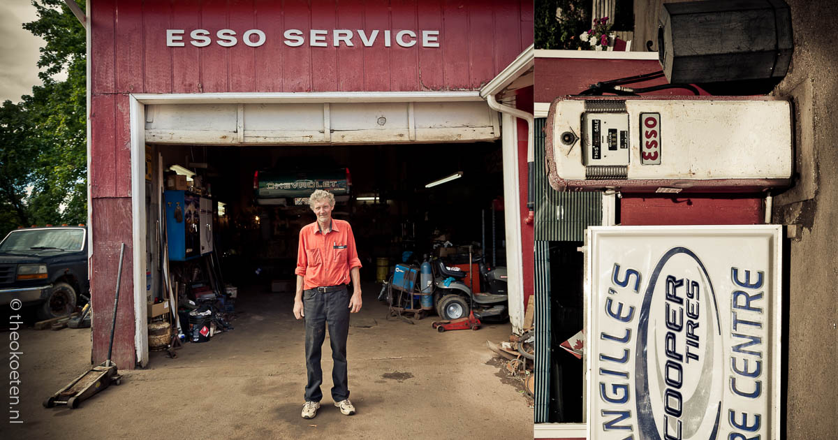 portrait,ENERGY, esso, fuel, garage