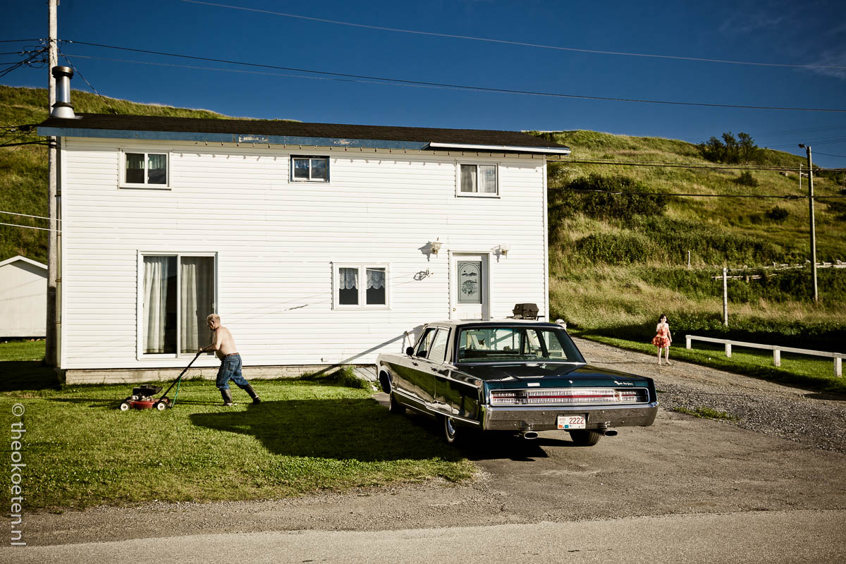 gros morne, new foundland, people, trout river