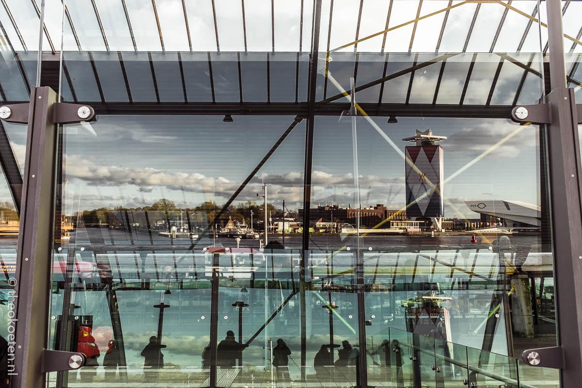 amsterdam, fuji x100s/t, reflection, train